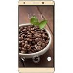 SmartPhone CUBOT H2 Dual SIM, 4G, 5.5 inch HD IPS OGS, Quad Core 1.3 GHz, 3GB DDR3, 16GB Flash, 13 MPx, Auriu, Android 5.1 (include Carcasa Transparenta si Folie Protectie Suplimentara)