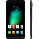 SmartPhone CUBOT H1, 4G, 5.5 HD IPS OGS, Quad Core 1.0 GHz, 2GB DDR3, 16GB Flash, 13 MPx, Negru (include Carcasa Transparenta si Folie Protectie Suplimentara)