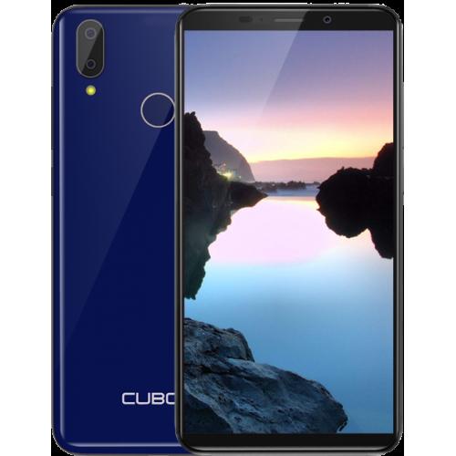 CUBOT J7, 5.7 HD+, 2+16GB, Android 9, Albastru +Husa +Folie