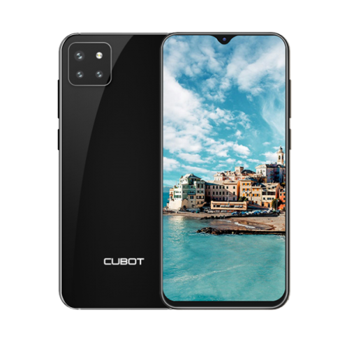 Telefon CUBOT X20 PRO, 4G, Helio P60, 6.3 FHD+, 6+128GB, Android 9, Negru +Husa +Folie