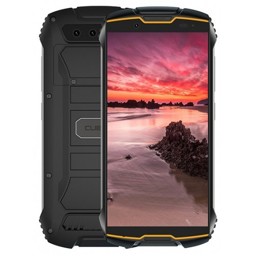 Telefon rezistent CUBOT KING KONG mini, 4G, Rezistenta IP68, Portocaliu-Negru