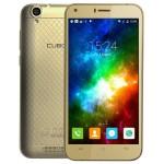 SmartPhone - Telefon Mobil CUBOT Manito, Dual SIM 4G, 5 HD IPS, 4Core 1.3 GHz, 3GB + 16GB, Camera 13 MPx, Android 6.0, Certificat GMS, Auriu +BONUS: Husa Silicon si Folie Plastic