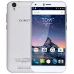 SmartPhone - Telefon Mobil CUBOT Manito, Dual SIM 4G, 5 HD IPS, 4Core 1.3 GHz, 3GB + 16GB, Camera 13 MPx, Android 6.0, Certificat GMS, Alb +BONUS: Husa Silicon si Folie Plastic