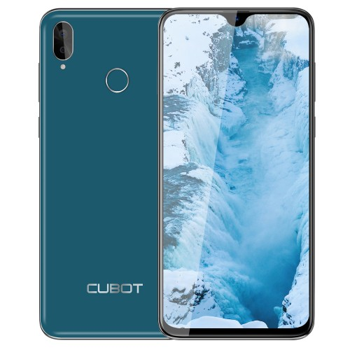 Seria R - Cubot R15, 6.26 HD+, 2+16GB, Android 9, Verde +Husa +Folie