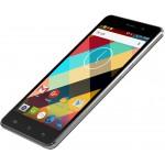SmartPhone - SmartPhone CUBOT Rainbow Dual SIM, 3G, 5 HD IPS, Quad Core 1.3 GHz, 1GB DDR3, 16GB Flash, 13 MPx, Certificat GMS, Android 6.0, LED Notificare (Verde), Negru + BONUS: Carcasa Transparenta si Folie Plastic