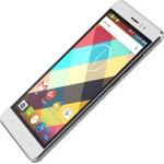 SmartPhone - SmartPhone CUBOT Rainbow, Dual SIM, 3G, 5 HD IPS, Quad Core 1.3 GHz, 1GB DDR3, 16GB Flash, 13 MPx, Certificat GMS, Android 6.0, LED Notificare (Verde), Alb + BONUS: Carcasa Transparenta si Folie Plastic