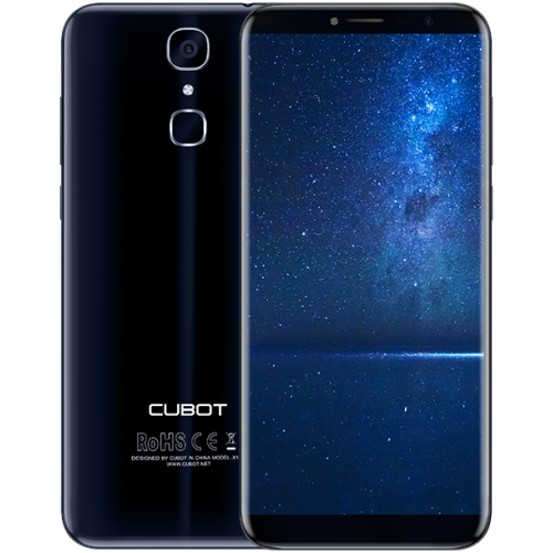SmartPhone - CUBOT X18, 4G, 5.7 HD IPS, 3+32GB, Android 7.0, Albastru (include Husa Silicon si Folie)