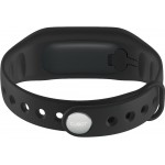 Accesorii Smart - Bratara Inteligenta Cubot Band V3, Ecran Tactil OLED, Standard rezistenta la apa IP65, Autonomie baterie 30 zile, GPS, Puls, Pedometru, Alarma, Caller ID, Vibratii, Negru