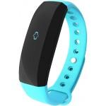 Accesorii Smart - Bratara Inteligenta Cubot Band V2, Ecran Tactil OLED, Standard rezistenta la apa IP65, Autonomie baterie 30 zile, GPS, Puls, Pedometru, Alarma, Caller ID, Vibratii, Albastru