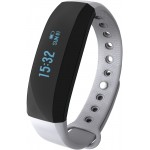 Accesorii Smart - Bratara Inteligenta Cubot Band V2, Ecran Tactil OLED, Standard rezistenta la apa IP65, Autonomie baterie 30 zile, GPS, Puls, Pedometru, Alarma, Caller ID, Vibratii, Gri