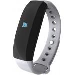 Accesorii Smart - Bratara Inteligenta Cubot Band V3, Ecran Tactil OLED, Standard rezistenta la apa IP65, Autonomie baterie 30 zile, GPS, Puls, Pedometru, Alarma, Caller ID, Vibratii, Gri