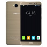 SmartPhone - Telefon Mobil CUBOT Cheetah 2, Dual SIM 4G, 5.5 FHD IPS, 8Core 1.3 GHz, 3GB + 32GB, Camera 13 MPx Samsung, Touch ID, USB Type-C, LED Notificare (Rosu/Verde), Android 6.0, Certificat GMS, Auriu +BONUS: Husa Silicon si Folie Plastic