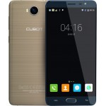 SmartPhone - Telefon Mobil CUBOT Cheetah 2, Dual SIM 4G, 5.5 FHD IPS, 8Core 1.3 GHz, 3GB + 32GB, Camera 13 MPx Samsung, Touch ID, USB Type-C, LED Notificare (Rosu/Verde), Android 6.0, Certificat GMS, Auriu/Albastru +BONUS: Husa Silicon si Folie Plastic