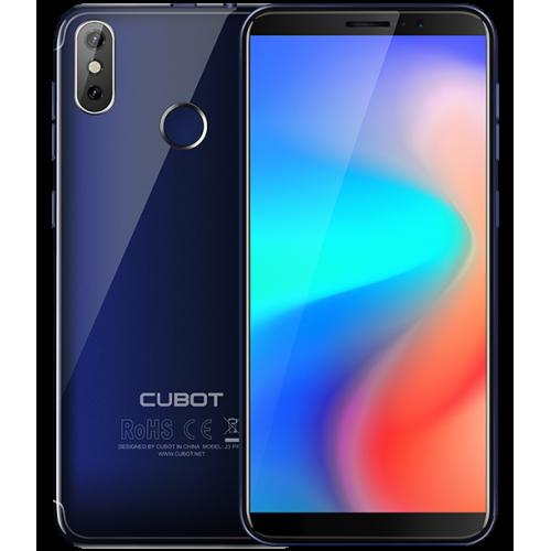 SmartPhone - CUBOT J3 PRO, 4G, 5.5, 1+16GB, Android GO, Albastru (include Husa Silicon si Folie)