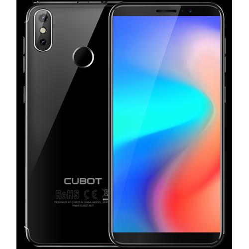 SmartPhone - CUBOT J3 PRO, 4G, 5.5, 1+16GB, Android GO, Negru (include Husa Silicon si Folie) + Bonus: Husa Flip