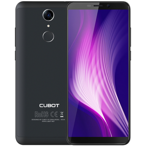 SmartPhone - CUBOT NOVA , 4G, 5.5, 3+16GB, Android 8.1, Negru (include Husa Silicon si Folie)
