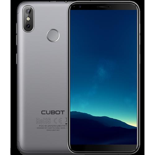 Cubot R11, 5.5 inch, 2+16GB, Gri (Husa Silicon si Folie)
