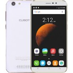 SmartPhone - Telefon Mobil CUBOT Dinosaur, Dual SIM 4G, 5.5 HD IPS, 4Core 1.3 GHz, 3GB + 16GB, Camera 13 MPx, Android 6.0, Certificat GMS, Alb +BONUS: Husa Silicon si Folie Sticla 9H