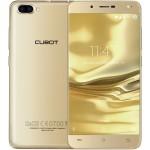 SmartPhone - Telefon Mobil Cubot Rainbow 2, Auriu +BONUS: Carcasa Transparenta si Folie Plastic