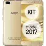 SmartPhone - Telefon Mobil Cubot Rainbow 2, Dual SIM 3G, 5.0 inch HD IPS, 4Core 1.3 GHz, 1GB + 16GB, Dual Camera 13+2 MPx, Camera Frontala cu Intelligent Beauty si Blit, LED Notificare (Albastru), Auriu KIT (Include Husa Silicon)