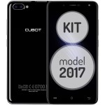 SmartPhone - Telefon Mobil Cubot Rainbow 2, Dual SIM 3G, 5.0 inch HD IPS, 4Core 1.3 GHz, 1GB + 16GB, Dual Camera 13+2 MPx, Camera Frontala cu Intelligent Beauty si Blit, LED Notificare (Albastru), Negru KIT (Include Husa Silicon)