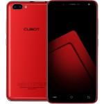 SmartPhone - Cubot Rainbow 2, Rosu, BUNDLE (include Husa Silicon) +BONUS: Husa FLIP