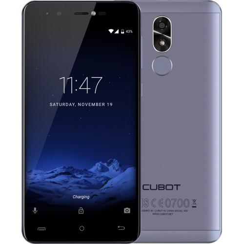 SmartPhone - Telefon Mobil Cubot R9, Dual SIM 3G, 5.0 inch HD, Quad-Core, 2GB + 16GB, Camera 13 MPx, Camera Frontala cu Blit, LED Notificare (Rosu), Touch ID, Android 7.0, Albastru